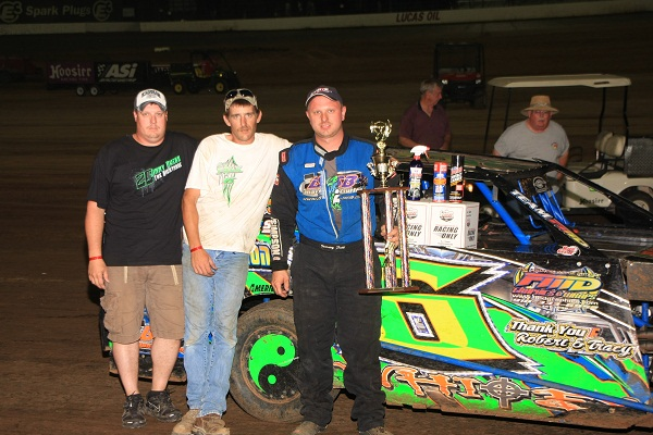 Justin Folk Victory Lane July 16th