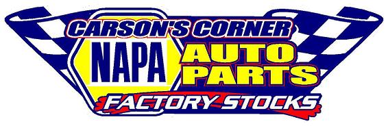 Carson's Corner Napa Factory Stocks Logo