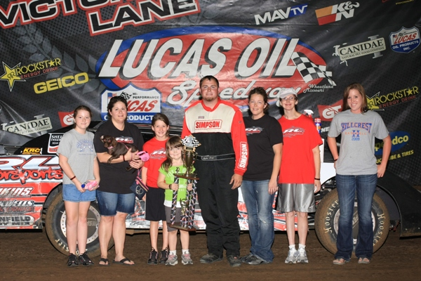 Rylan Long Victory Lane 827