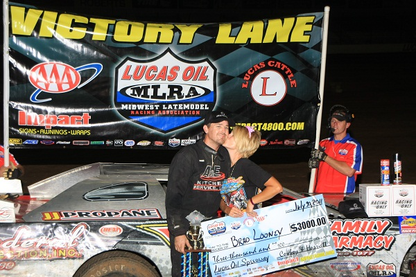 Looney in Victory Lane