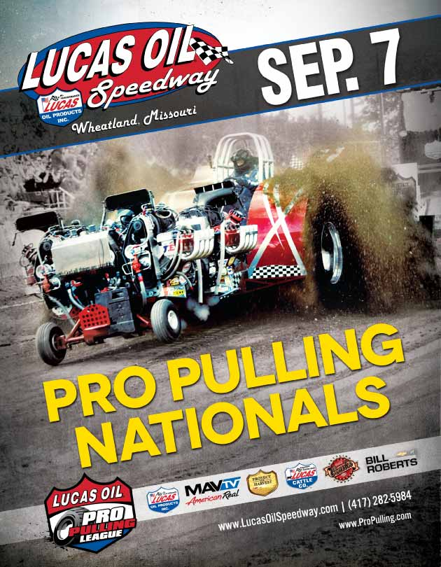 Lucas Oil Pro Pulling Truck & Tractor Pull this Saturday
