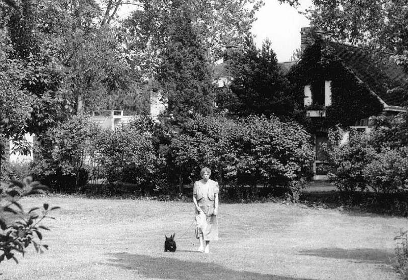 Eleanor Roosevelt and Fala