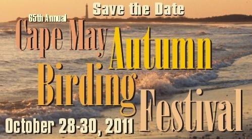 Cape May Autumn Birding Festivail