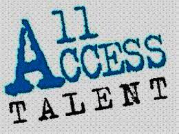 all access talent logo