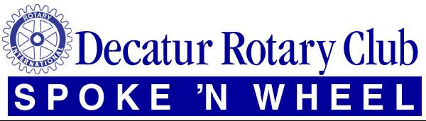Decatur Rotary Spoke 'n Wheel graphic