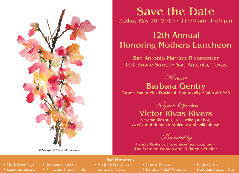 2013 Honoring Mothers Luncheon Save the Date-PNG
