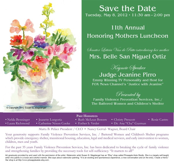 Save the Date HM 2012