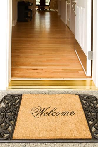 Zero step entry