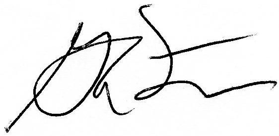 Greg Fitzgerald Signature