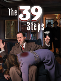 Playbill for The 39 Steps