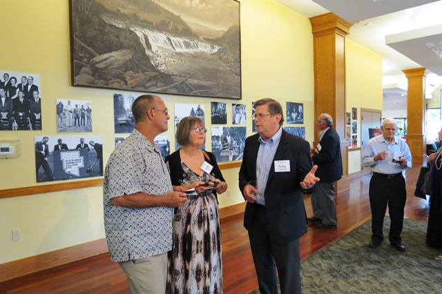 Reception at Annual Meeting 2013