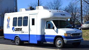 DMV Mobile License Van