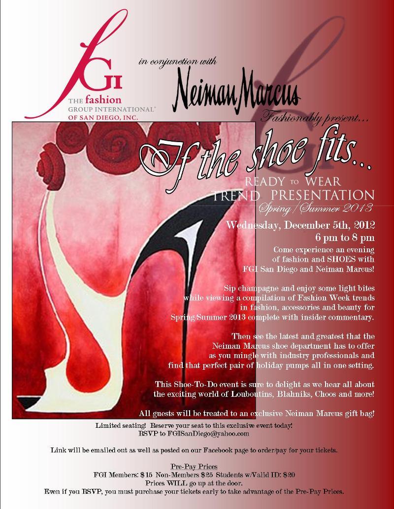 Trend Show Invite 2012