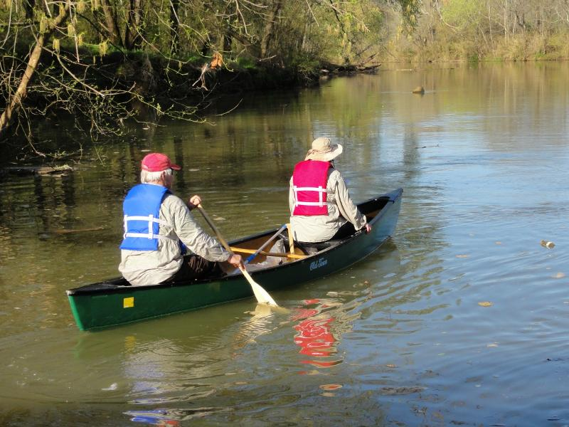 River Cleanup Canoe