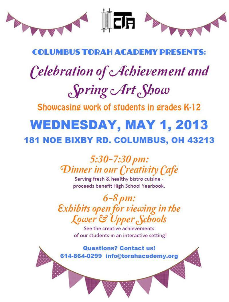Achievement flyer 4-19