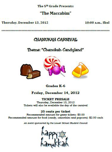 Chanukah Activities pg2