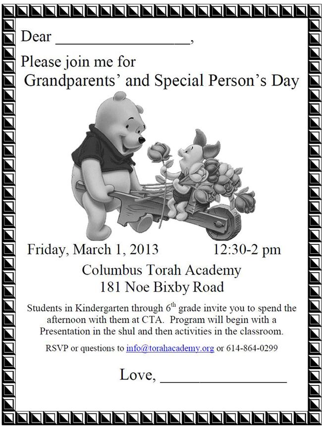 Grandparent Invite