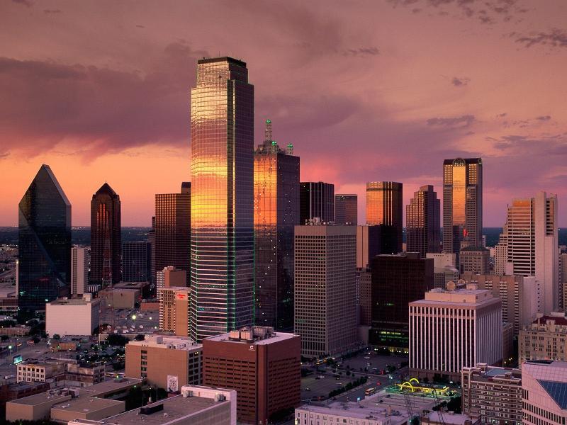 Dallas sky line