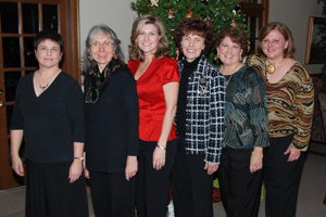 Holiday Party 2009 SIM Women