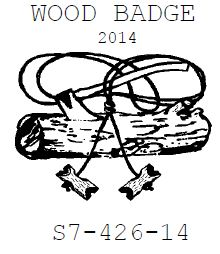 Woodbadge Course S7-426-14