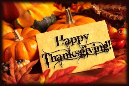 A Cowboy's Prayer, Sweet Treats, an Anniversary and Thanksgiving