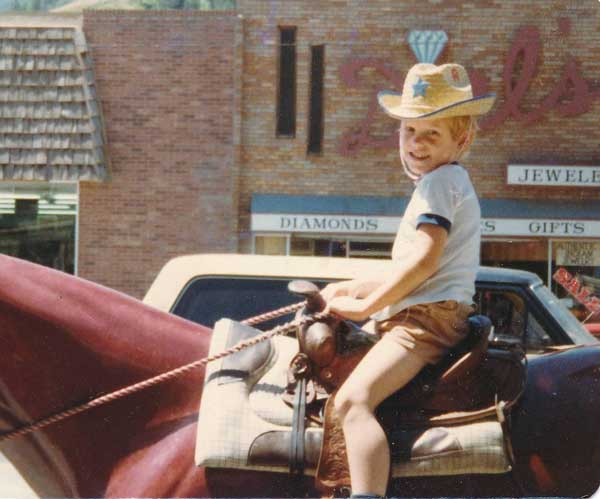 Matt - A Lightning Rider from the Past - F.M. LIght and Sons - Western Wear in Steamboat Springs, CO