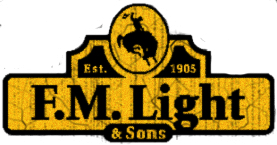 F.M. Light and Sons Logo - Western Wear in Steamboat Springs, CO
