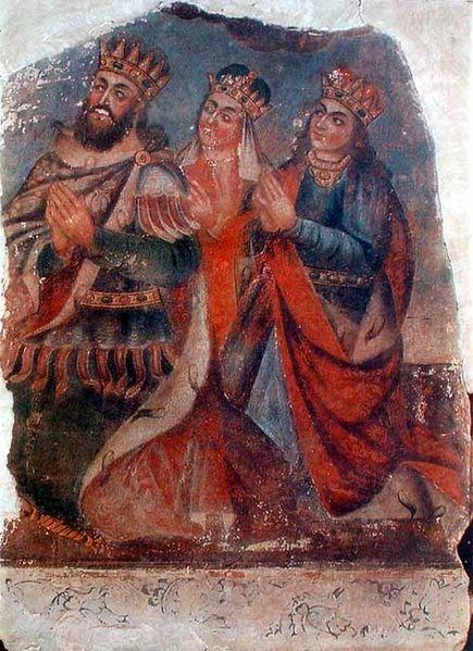 Trdat, Ashkhen and Khosrovidukht