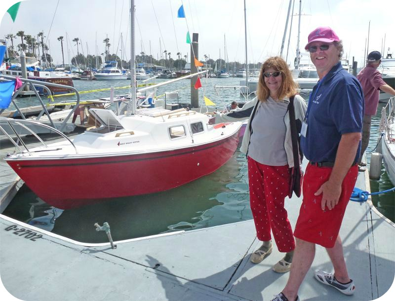Red Boat at Marina Fest