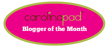 Carolina Pad Blogger of the Month!