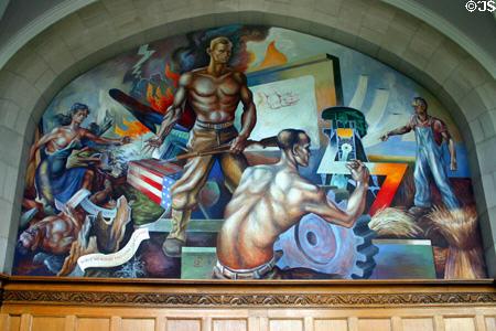 freedom mural msu