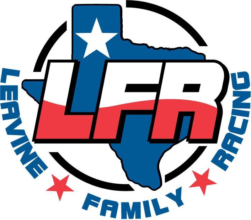 Leavine Family Racing Texas Logo