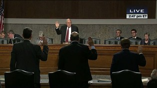 Senate Committee Swearing In C-SPAN