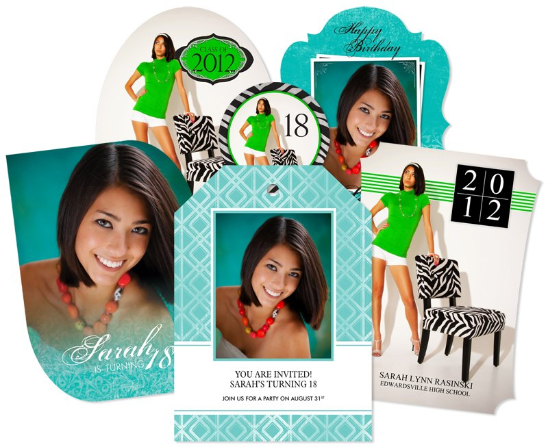 Designer photo Cards