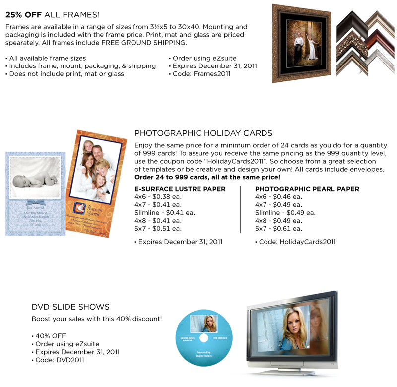 December photo lab specials