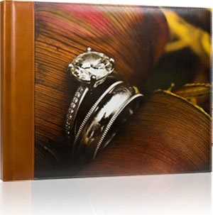 Printed Leather Photo Album Cover