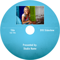 DVD photo slideshow templates for photographers