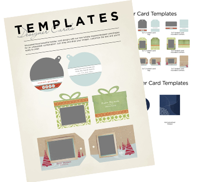 designer card photoshop templates for photographers