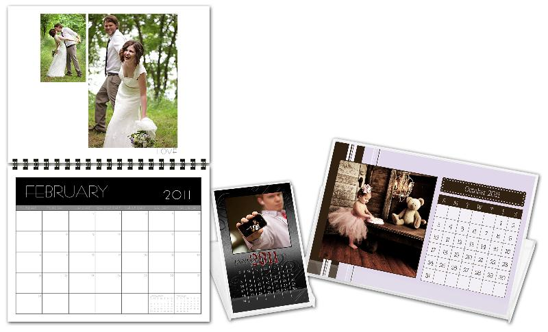 custom photo calendars for professional photographers