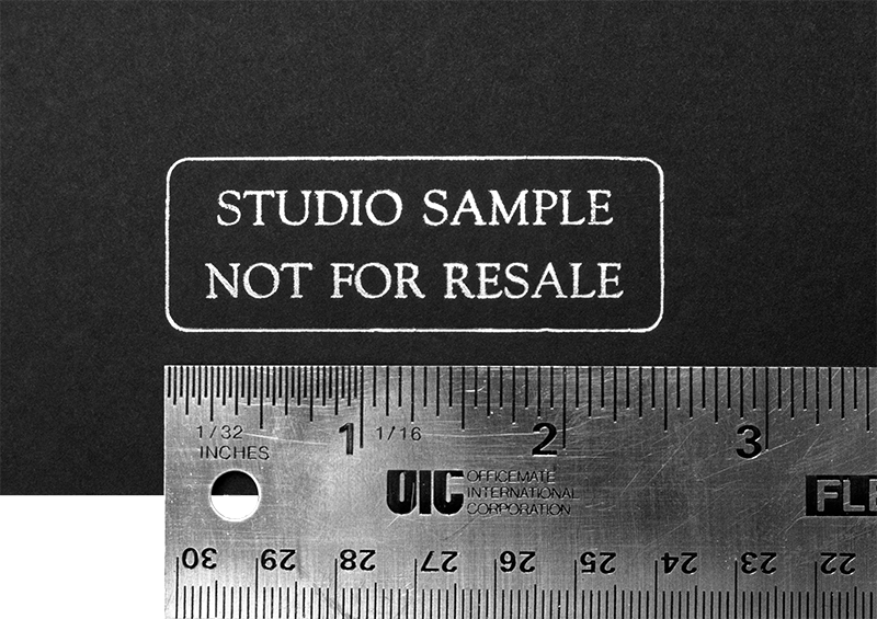Sample Album Stamp