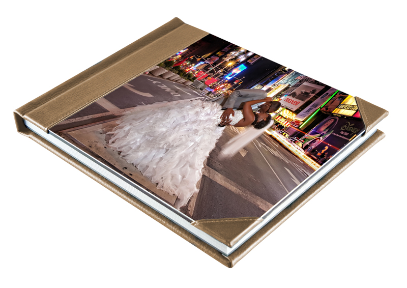 metal photo album for professional photographers