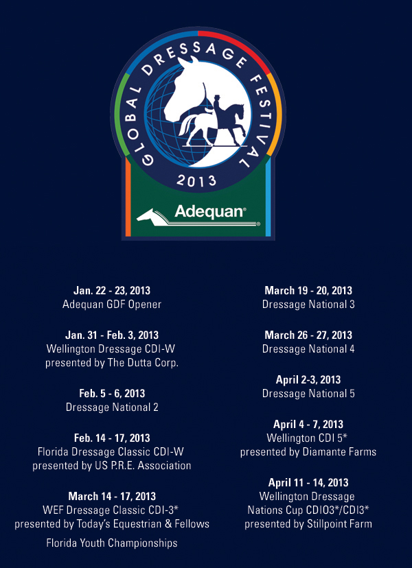 AGDF Schedule