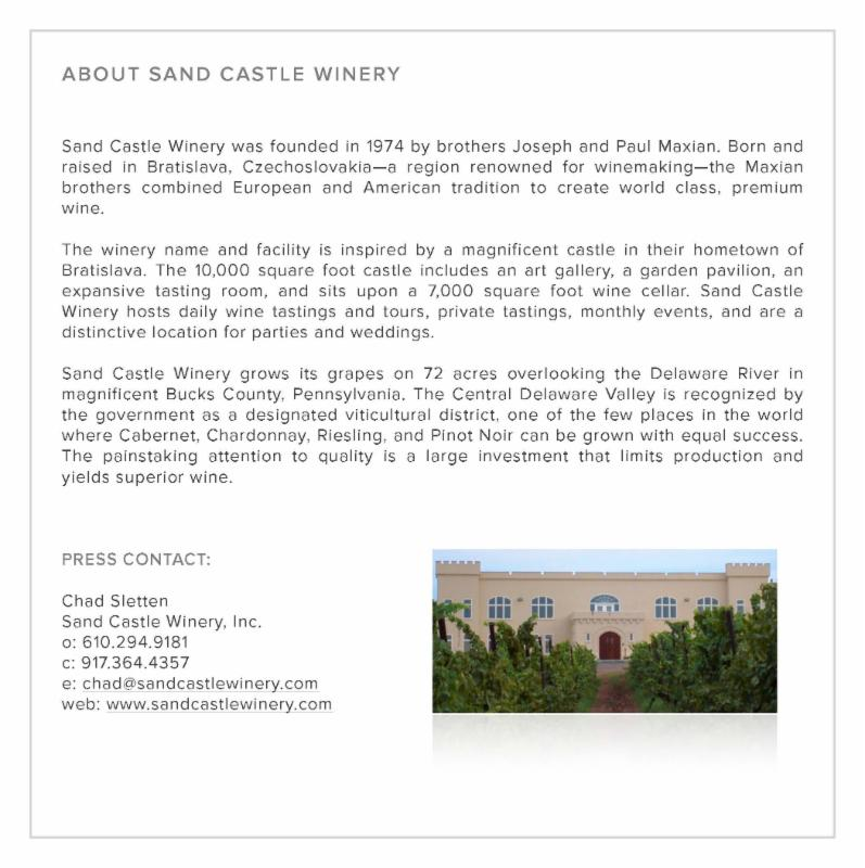 About SandCastle Winery