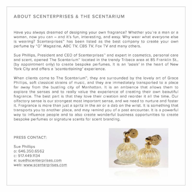 About Scenterprises