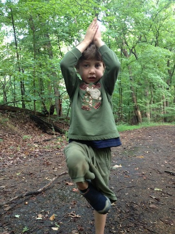 cayan in tree pose