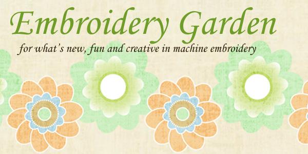 Embroidery Garden Newsletter