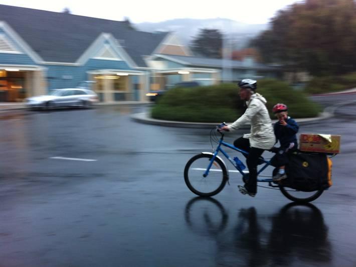 rain biking