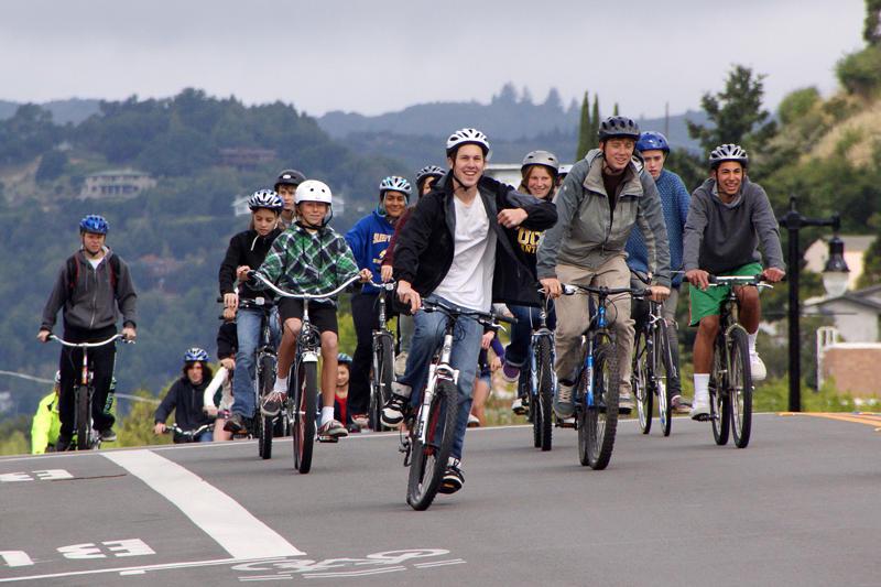 Drake bike ride