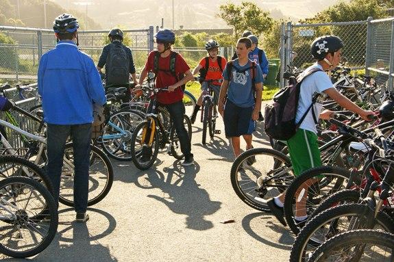 MV Bike to School Day