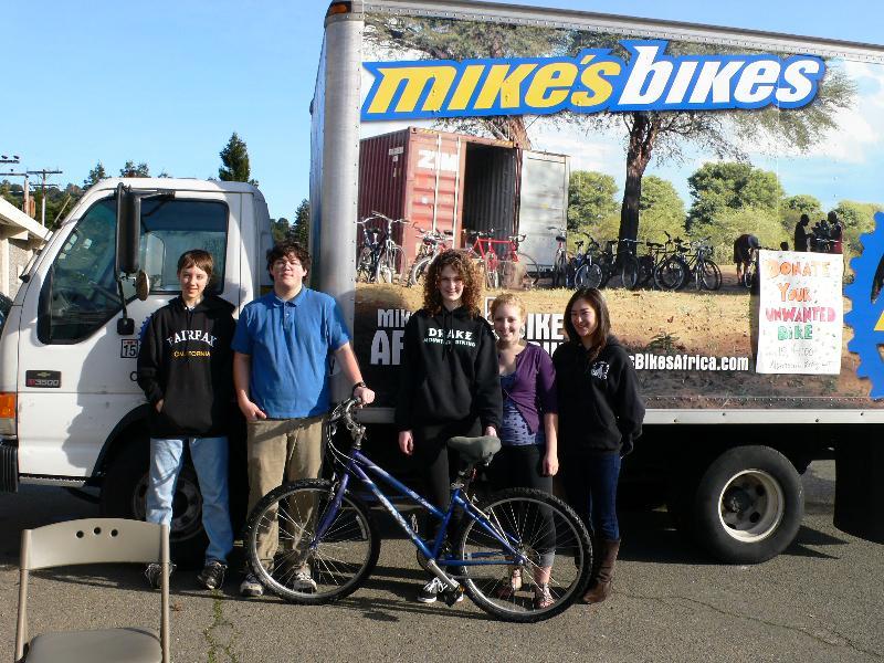 bike donation drive